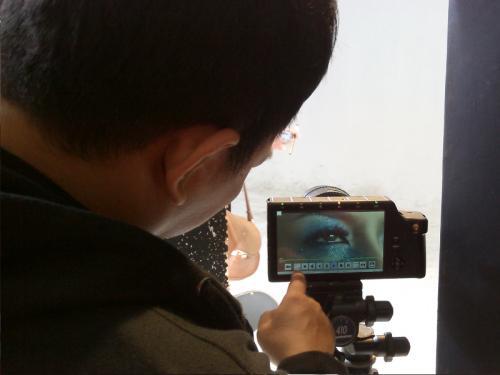 Display kamera TS3
